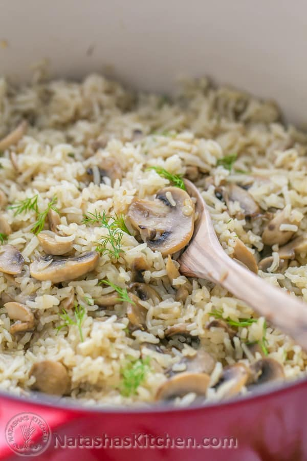 What's Cookin, Chicago?: Mushroom Rice Pilaf