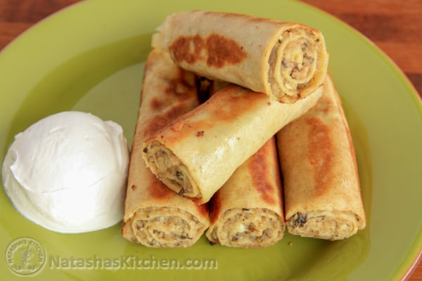 Mom's recipe for Savory Crepes. All you need to make this crepes recipe is a blender and non-stick skillet. Meat-filled crepes are a family favorite.