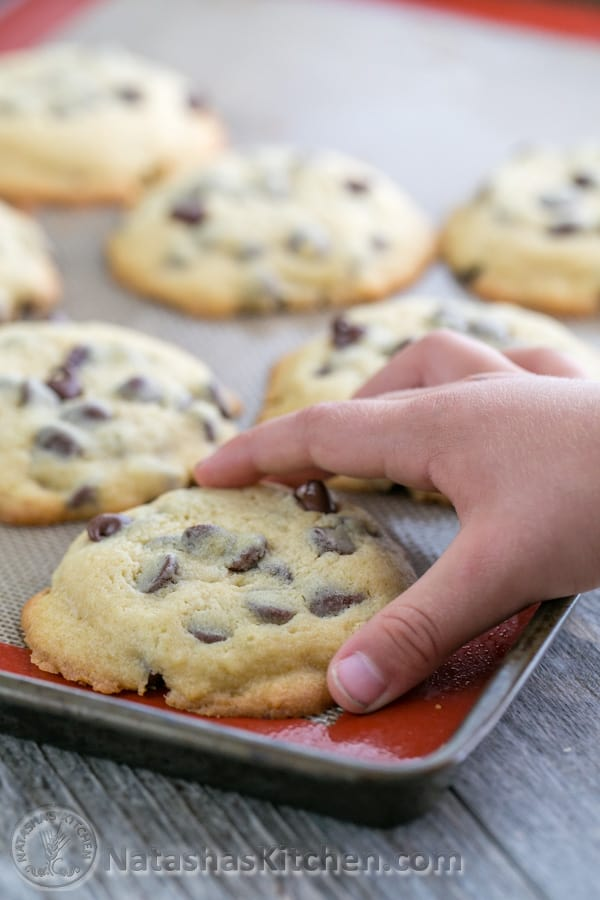 Chocolate chip cookie recipe without soda
