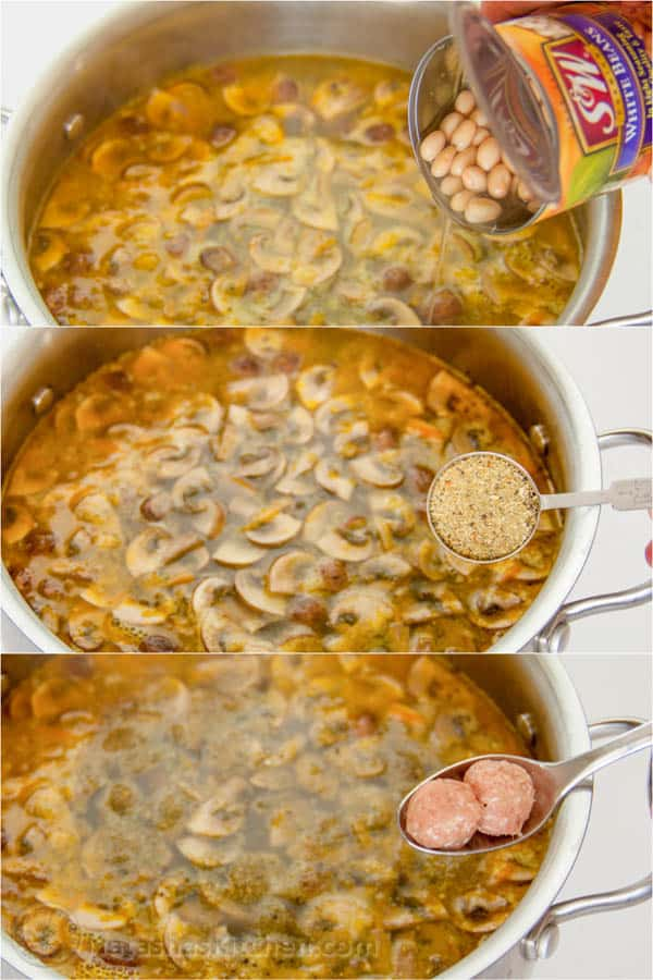Turkey Meatball Soup-13