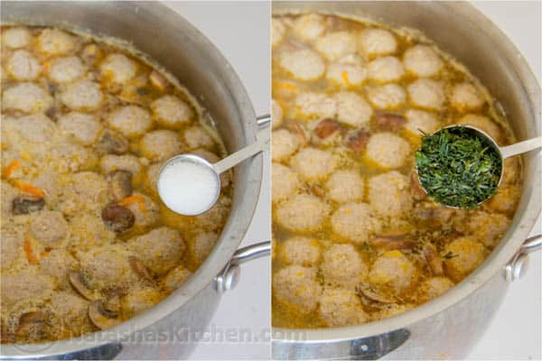 Turkey Meatball Soup-14