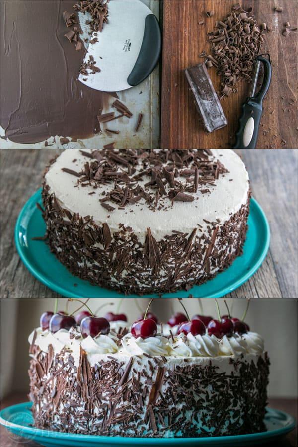 German Chocolate Cake Cherries