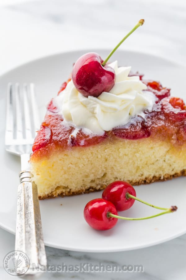 The Best Home Made Cherry Cake