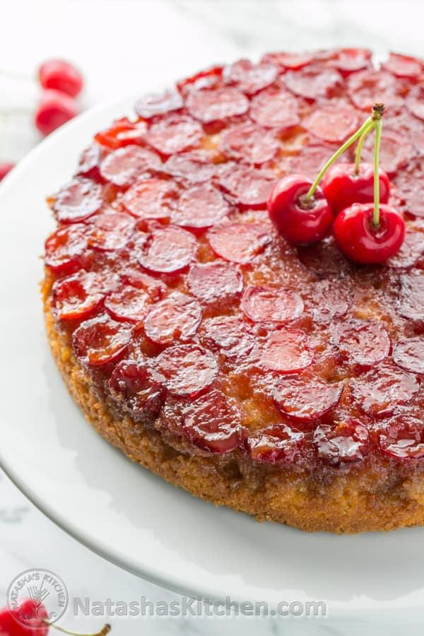 Cherry Angel Cake Recipe