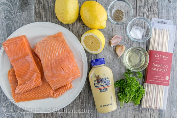 Grilled Garlic Dijon Herb Salmon Recipes — Dishmaps