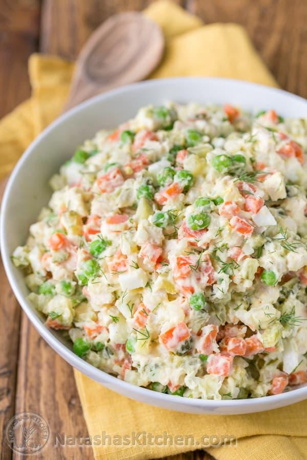 Chicken Potato Salad Recipe Natasha's Kitchen