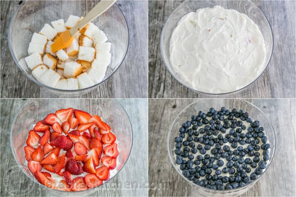No-Bake Strawberry Blueberry Trifle-10