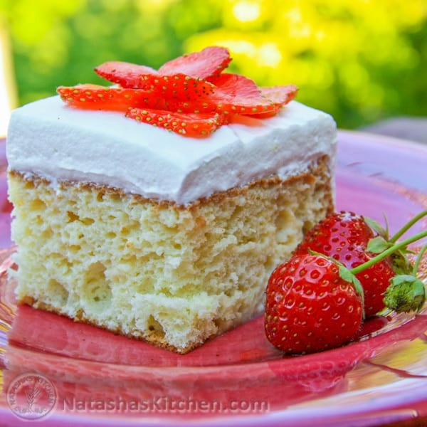 Tres Leche Cake Recipe Topping