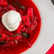 Classic Borsch Recipe, just like mom used to make | natashaskitchen.com