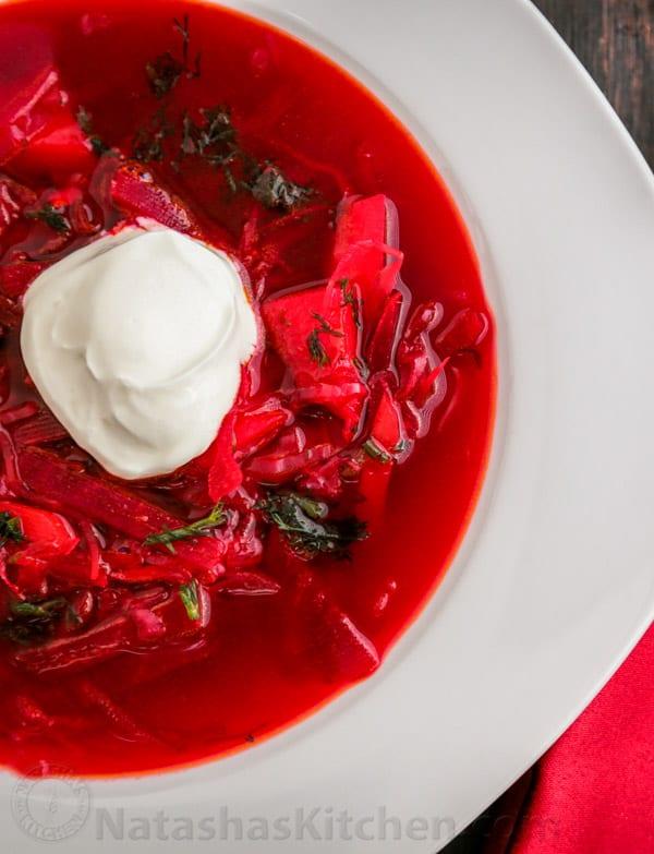 Natasha S Kitchen Borscht