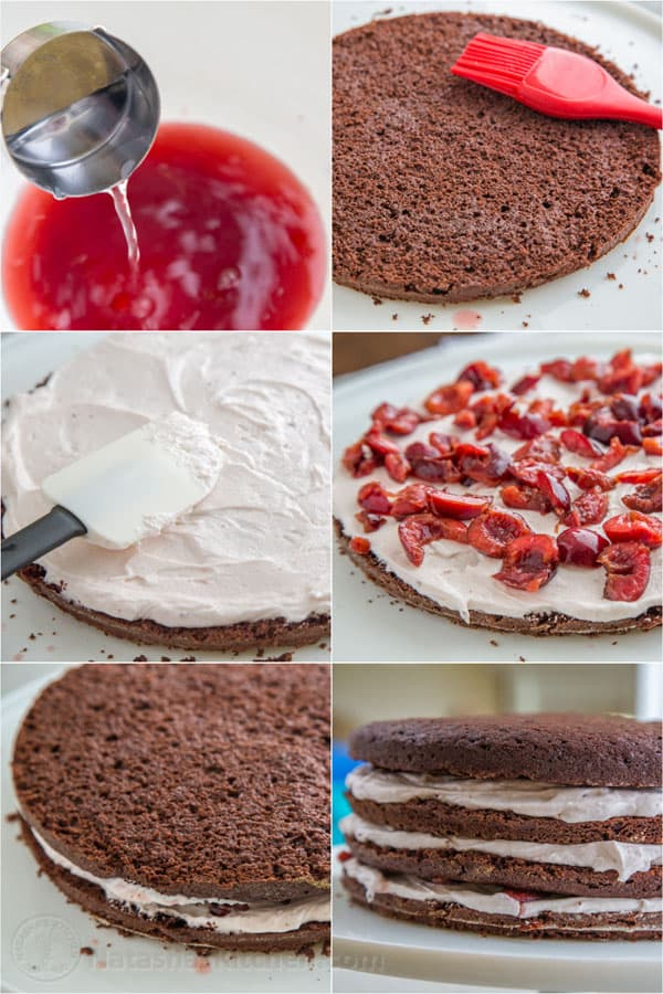 Drunken Cherry Chocolate Cake-6