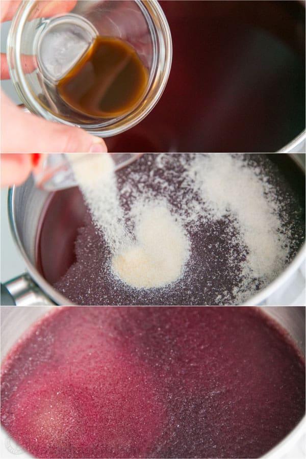 Pomegranate Christmas Cake Recipe-15