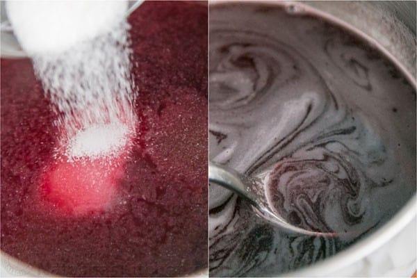 Pomegranate Christmas Cake Recipe-16