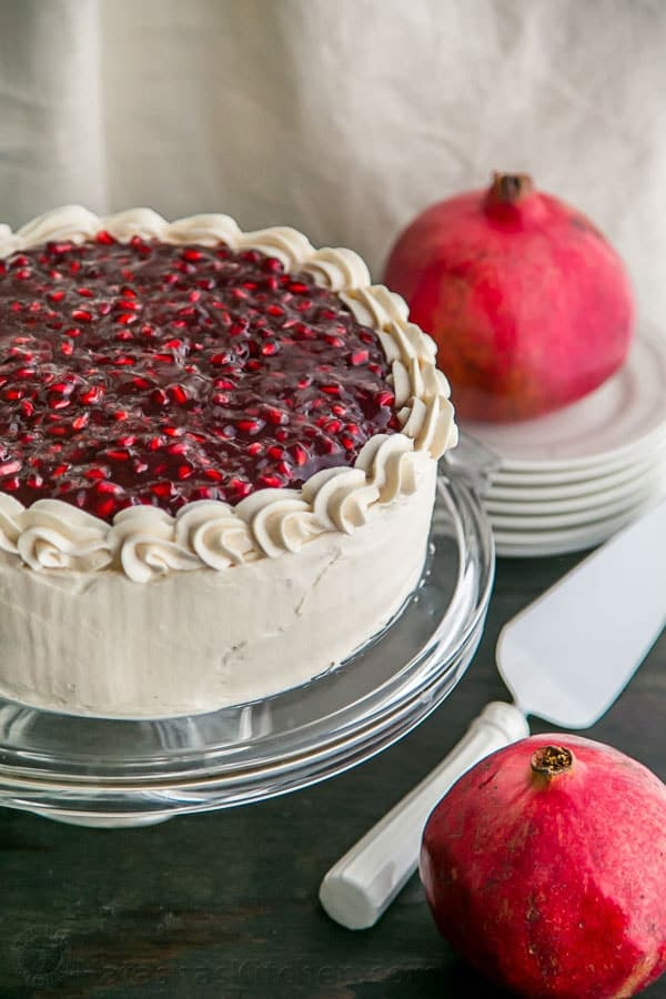 Pomegranate Christmas Cake | 14 Christmas Cake Recipes You Can Make Anytime Of The Year