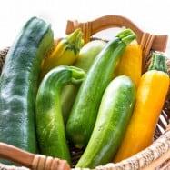 Vibrant vegetables dishes