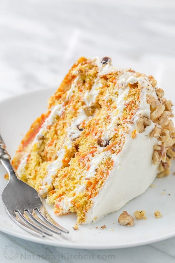How Much Sugar In A Slice Of Carrot Cake