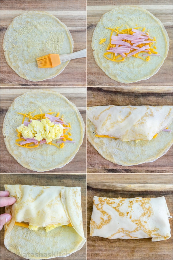 Breakfast Crepe With Egg Ham And Cheese By Janice C Pictures to pin on ...