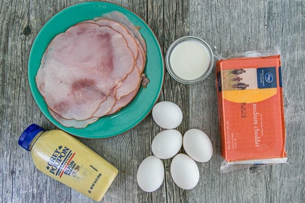 Egg, Ham and Cheese Crepes Pockets - Our son's favorite breakfast and they are freezer friendly!   natashaskitchen.com