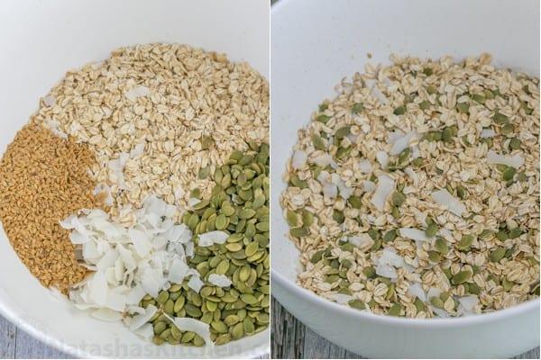 Pumpkin Flax Granola Recipe-9