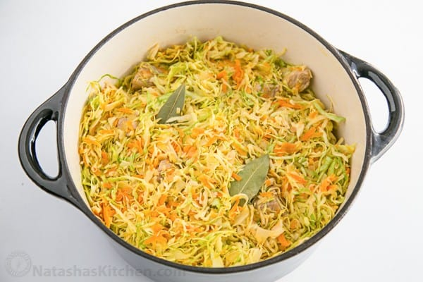 Russian Braised Cabbage-2