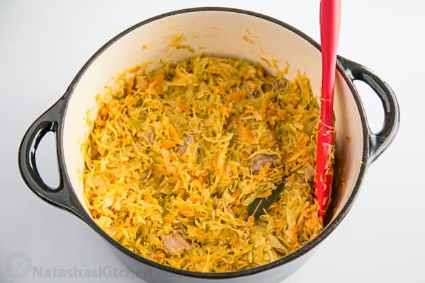 Russian Braised Cabbage-3