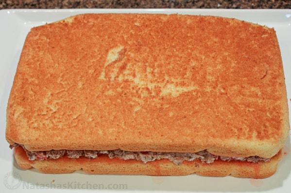 Russian Cherry Layer Cake-10