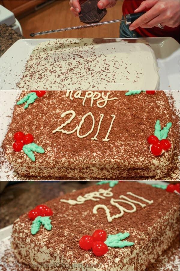 Russian Cherry Layer Cake-15