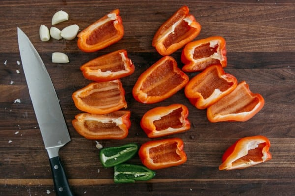 Eggplant with Red Pepper Sauce-10