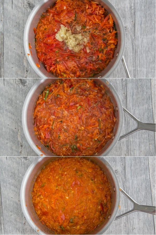 Eggplant with Red Pepper Sauce-12