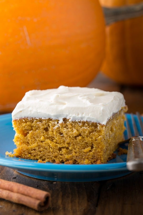 Easy Vegan Pumpkin Cake