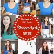 Natasha's Kitchen YouTube Cooking Channel Blooper Reel