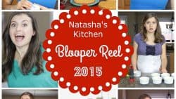 Natasha's Kitchen YouTube Cooking Channel Blooper Reel