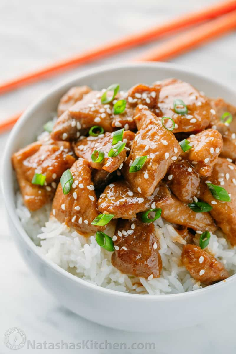 Easy Teriyaki Chicken Recipe — Dishmaps