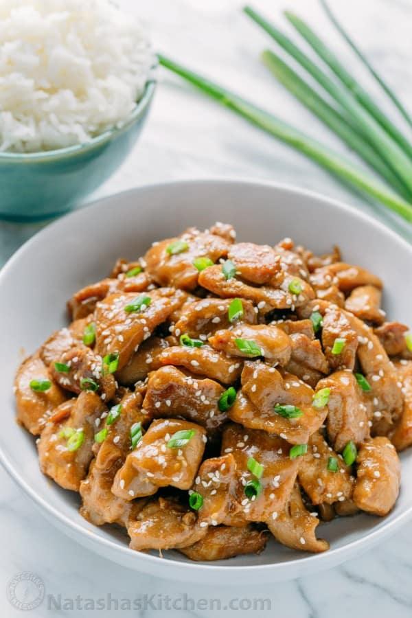 Easy Teriyaki Chicken Recipe - NatashasKitchen.com