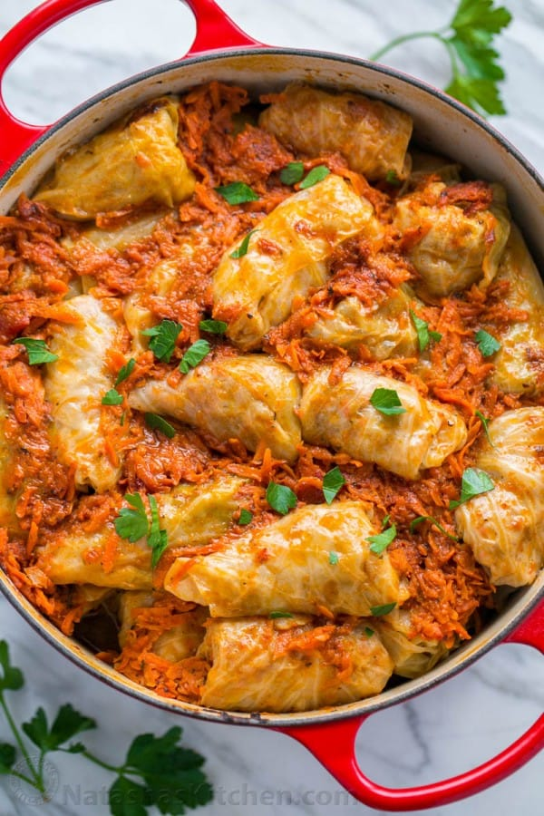 Golubtsi recipe a classic ukrainian food our family loves these stuffed cabbage rolls this step by step recipe makes forumfinder Gallery