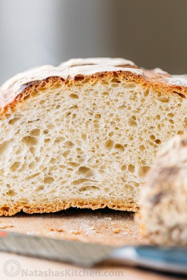 Phenomenal Crusty French Bread Natashas Kitchen Hairstyle Inspiration Daily Dogsangcom