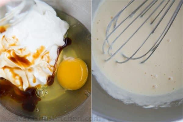 Greek Yogurt Cupcakes with Blackberry Frosting-6