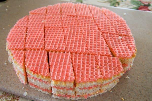 Ukrainian Waffle Cake-3