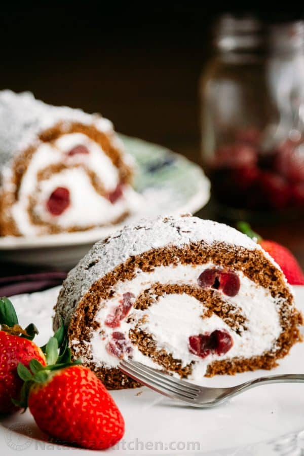Chocolate Cherry Roll-2