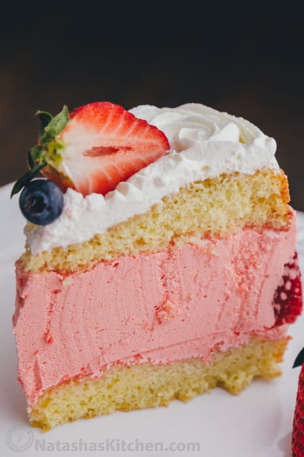 Strawberry Jello Cake-4