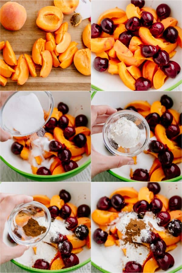 Apricot Cherry Galette-13