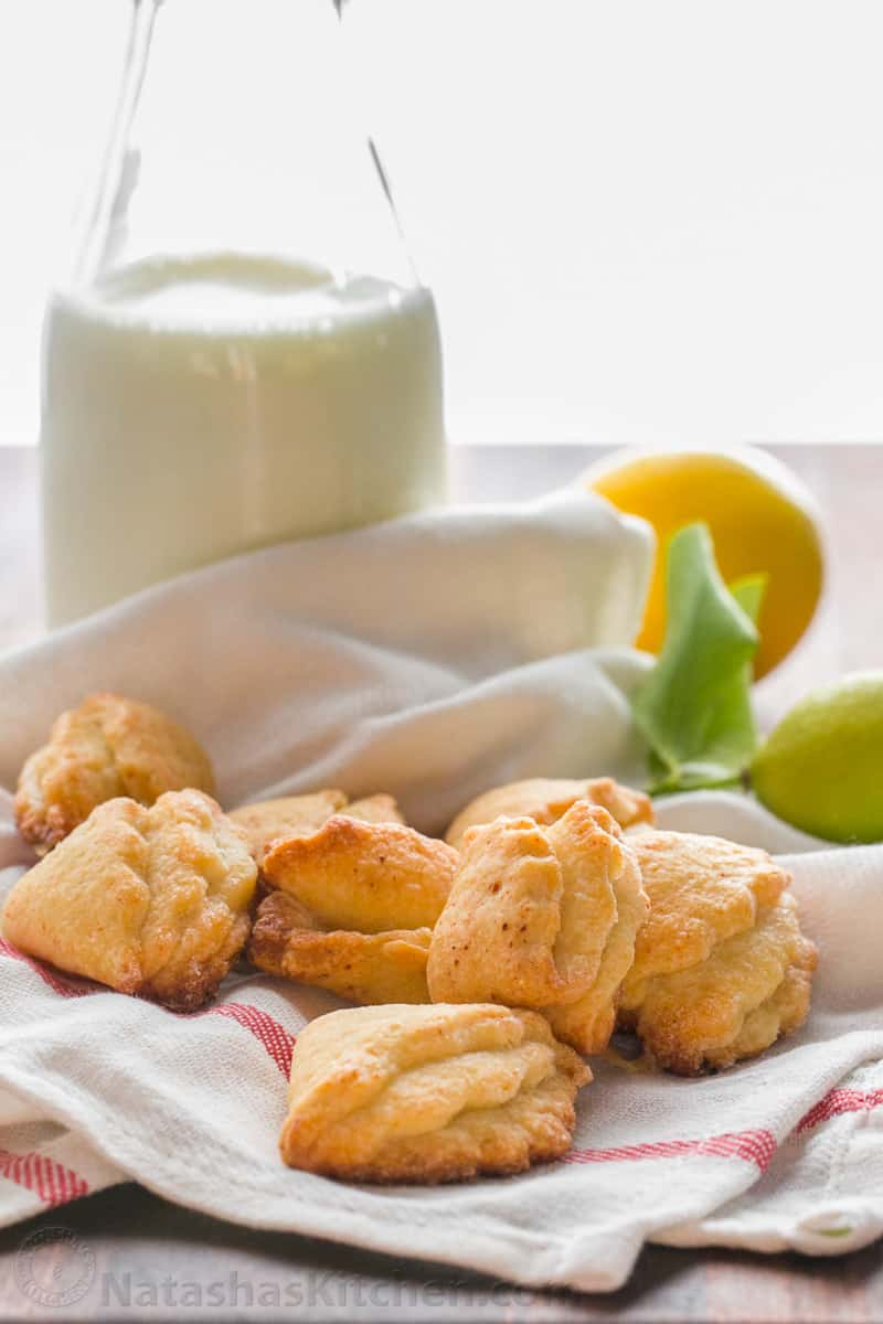 Shortbread cottage cheese cookies: recipe with photos 43
