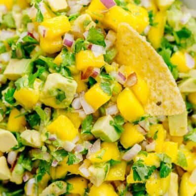 Mango Salsa Recipe with Avocado