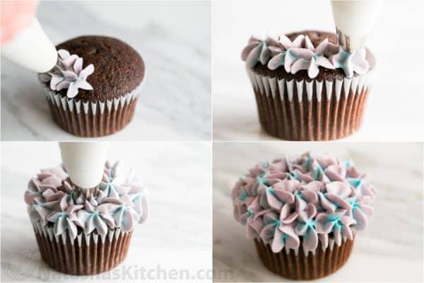 Hydrangea Cupcakes Recipe - 7