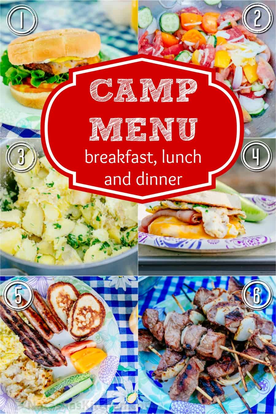 Camping Recipes for Breakfast, Lunch and Dinner ...