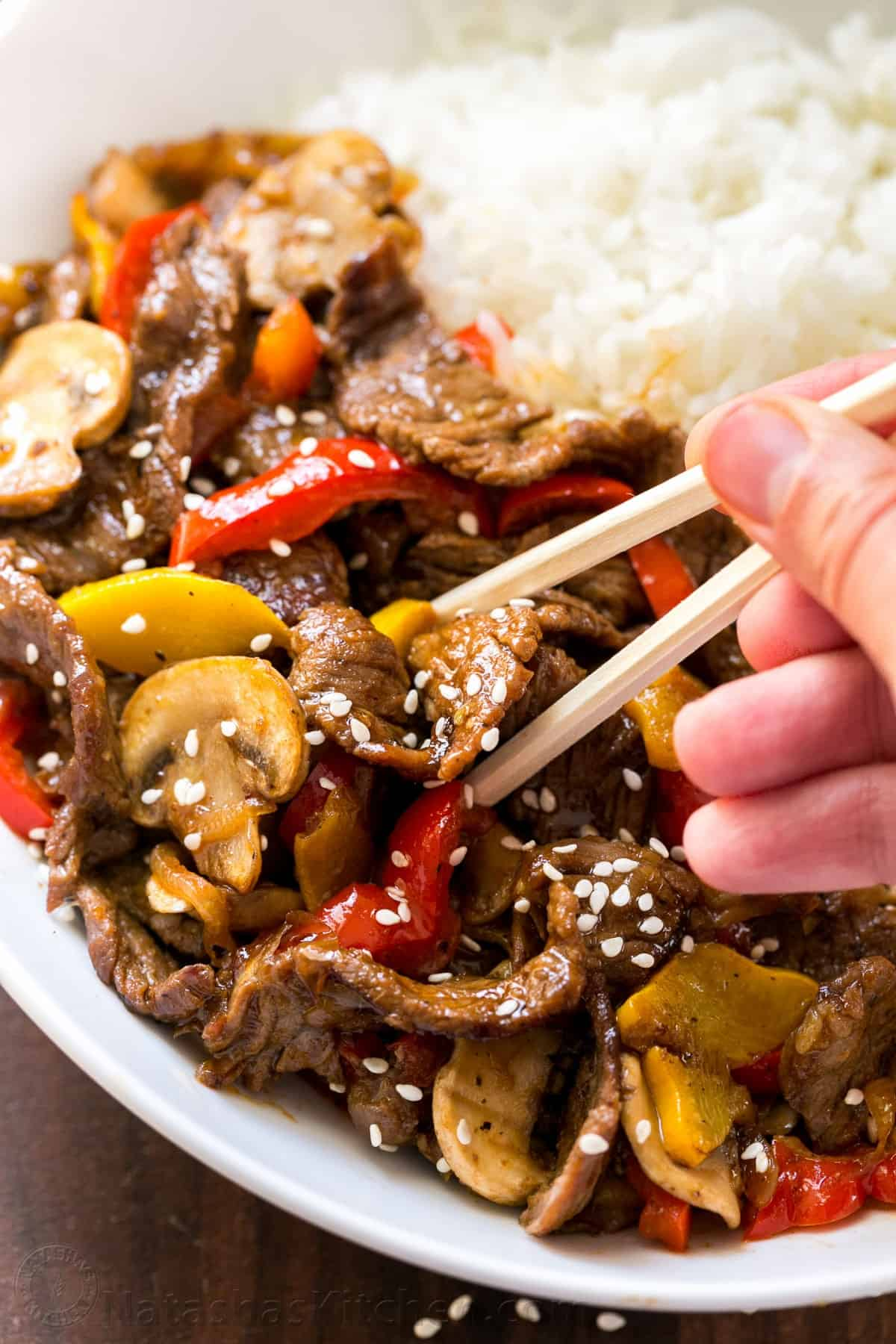 Beef Stir-Fry Recipe with 3 Ingredient Sauce ...
