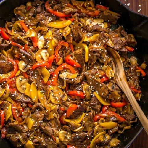 Beef Stir Fry Recipe With 3 Ingredient Sauce Natashaskitchen Com