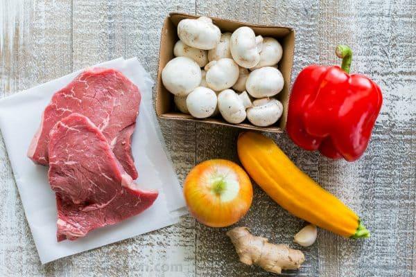 Beef Stir-Fry Recipe with 3 Ingredient Sauce - NatashasKitchen.com
