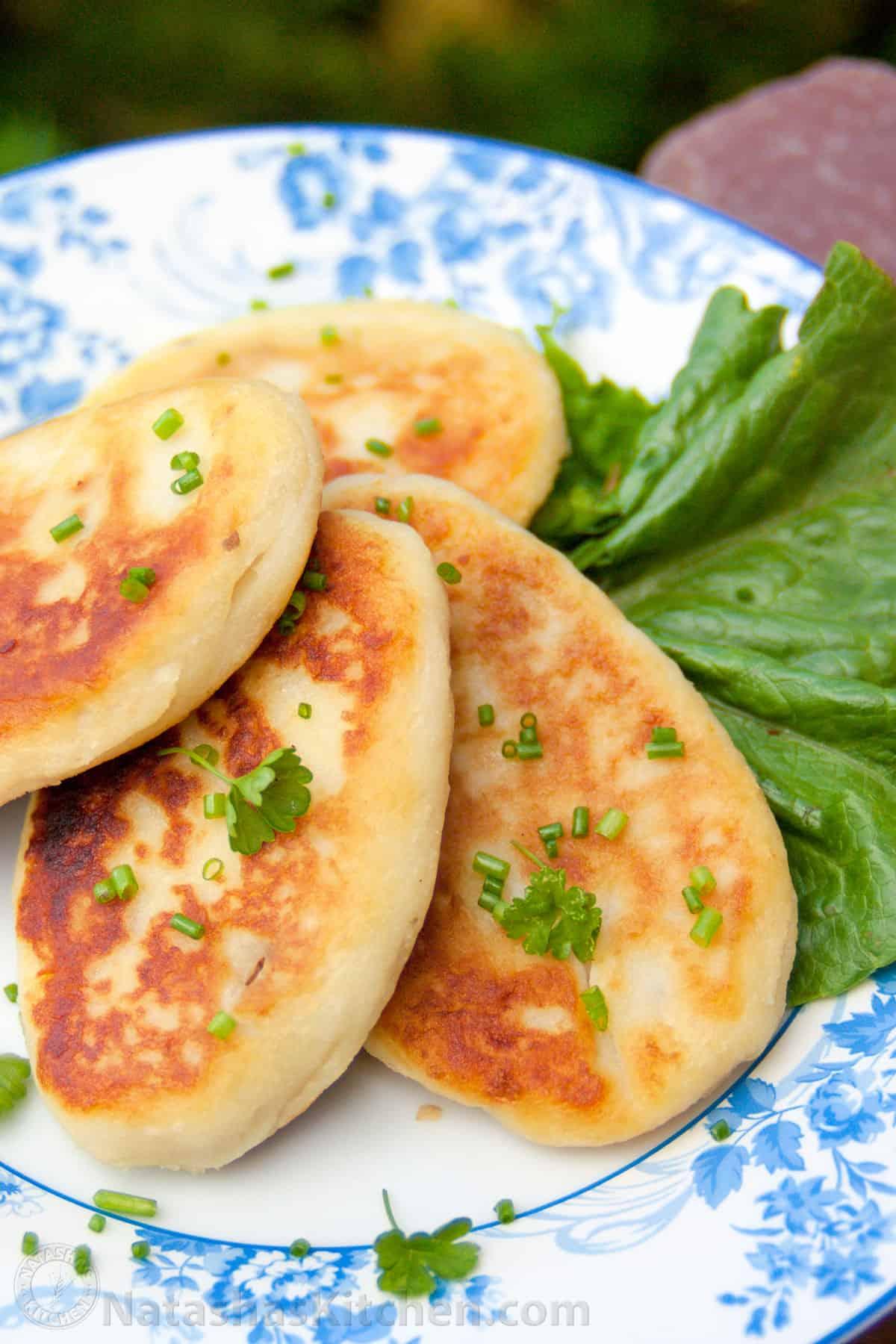 Stuffed Potato Pancakes Recipe
