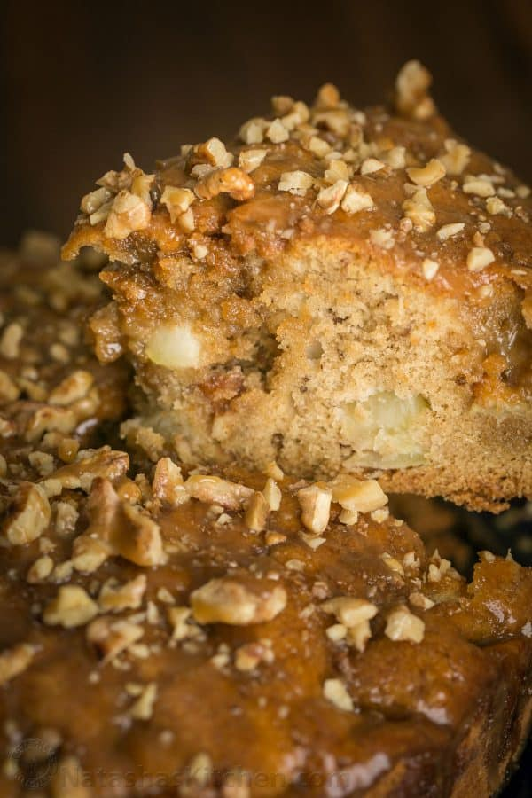 Apple coffee cake (classic apple dapple cake) is loaded with apple and ...